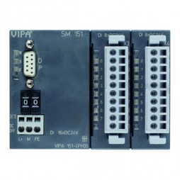 VIPA - System 100V - Moduły komunikacyjne - SM 151 – PROFIBUS-DP slave + moduł cyfrowy (151-4PH00)