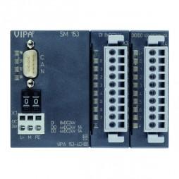 VIPA – System 100V – Moduły komunikacyjne – SM 153 – CANopen slave + moduł cyfrowy (153-4CH00)