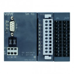 VIPA – System 100V – Moduły komunikacyjne – SM 153 – PROFIBUS-DP slave + moduł cyfrowy (153-4PF00)