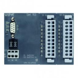 VIPA – System 100V – Moduły komunikacyjne – SM 153 – PROFIBUS-DP slave + moduł cyfrowy (153-4PH00)