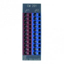 VIPA - System 200V - Moduły zaciskowe - CM 201 – Moduł zaciskowy (201-1AA20)