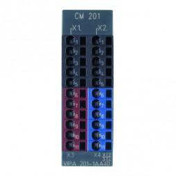 VIPA - System 200V - Moduły zaciskowe - CM 201 – Moduł zaciskowy (201-1AA40)